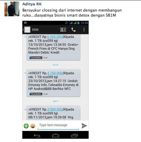 Tutorial Bisnis Online Qnet DI Bontang Barat Whatapp 081212512488