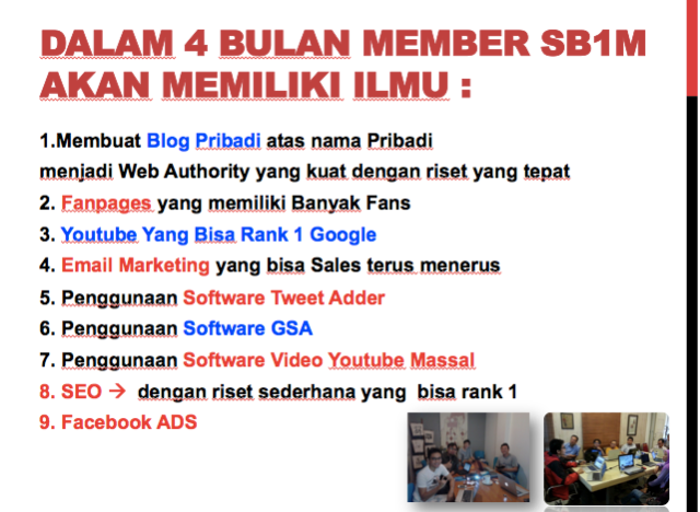 Tutorial Sekolah Internet Marketing Jogja DI Ratahan Whatapp 081212512488